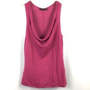Limited Cowl Sweater Tank Top